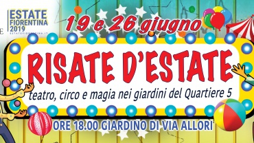 Risate d'estate – Estate Fiorentina 2019